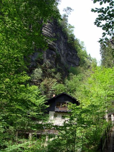 Saksonska_Szwajcaria_Amselfallbaude
